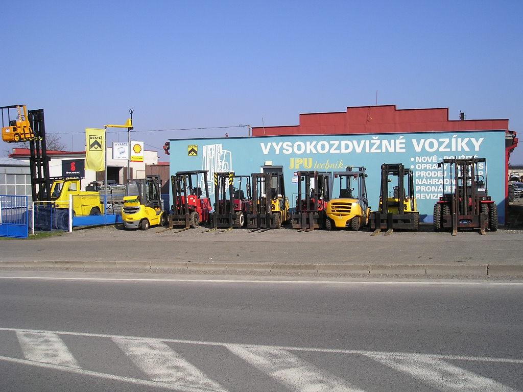 JPU TECHNIK v.o.s. | Opravy a prodej manipulační techniky